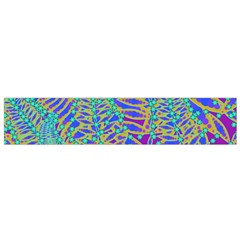 Abstract Floral Background Flano Scarf (small)