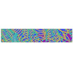 Abstract Floral Background Flano Scarf (Large)