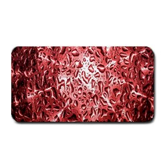 Water Drops Red Medium Bar Mats