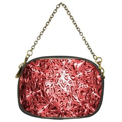 Water Drops Red Chain Purses (One Side)