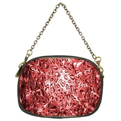 Water Drops Red Chain Purses (Two Sides)