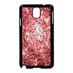 Water Drops Red Samsung Galaxy Note 3 Neo Hardshell Case (black)