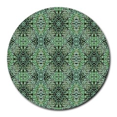 Seamless Abstraction Wallpaper Digital Computer Graphic Round Mousepads