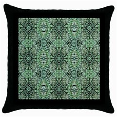Seamless Abstraction Wallpaper Digital Computer Graphic Throw Pillow Case (Black)