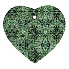 Seamless Abstraction Wallpaper Digital Computer Graphic Heart Ornament (Two Sides)