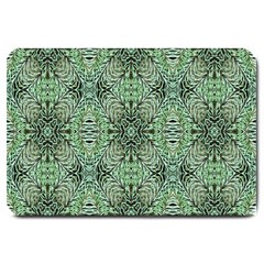 Seamless Abstraction Wallpaper Digital Computer Graphic Large Doormat