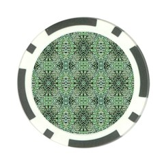 Seamless Abstraction Wallpaper Digital Computer Graphic Poker Chip Card Guard (10 pack)
