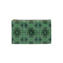 Seamless Abstraction Wallpaper Digital Computer Graphic Cosmetic Bag (small)