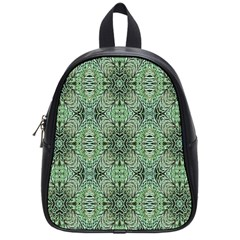 Seamless Abstraction Wallpaper Digital Computer Graphic School Bags (small)