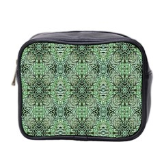 Seamless Abstraction Wallpaper Digital Computer Graphic Mini Toiletries Bag 2-Side