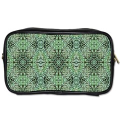 Seamless Abstraction Wallpaper Digital Computer Graphic Toiletries Bags 2-Side
