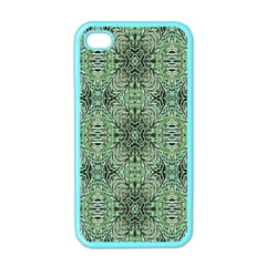 Seamless Abstraction Wallpaper Digital Computer Graphic Apple iPhone 4 Case (Color)