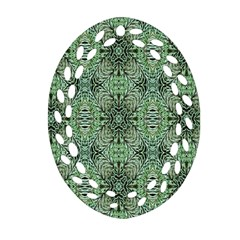 Seamless Abstraction Wallpaper Digital Computer Graphic Oval Filigree Ornament (Two Sides)