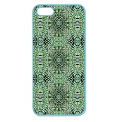 Seamless Abstraction Wallpaper Digital Computer Graphic Apple Seamless iPhone 5 Case (Color)