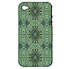 Seamless Abstraction Wallpaper Digital Computer Graphic Apple iPhone 4/4S Hardshell Case (PC+Silicone)