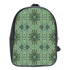Seamless Abstraction Wallpaper Digital Computer Graphic School Bags (XL)