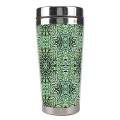 Seamless Abstraction Wallpaper Digital Computer Graphic Stainless Steel Travel Tumblers
