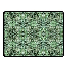 Seamless Abstraction Wallpaper Digital Computer Graphic Double Sided Fleece Blanket (Small)