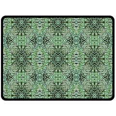 Seamless Abstraction Wallpaper Digital Computer Graphic Double Sided Fleece Blanket (Large)