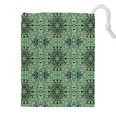 Seamless Abstraction Wallpaper Digital Computer Graphic Drawstring Pouches (XXL)