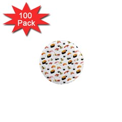 Sushi Lover 1  Mini Magnets (100 Pack)