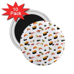 Sushi Lover 2 25  Magnets (10 Pack)