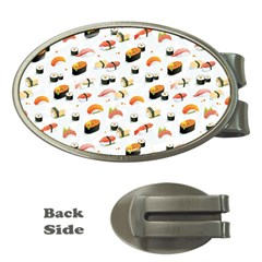 Sushi Lover Money Clips (Oval)