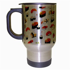 Sushi Lover Travel Mug (silver Gray)
