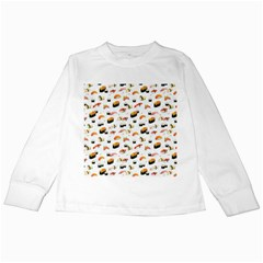 Sushi Lover Kids Long Sleeve T-Shirts