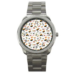 Sushi Lover Sport Metal Watch