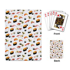 Sushi Lover Playing Card