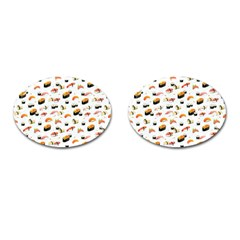 Sushi Lover Cufflinks (oval)