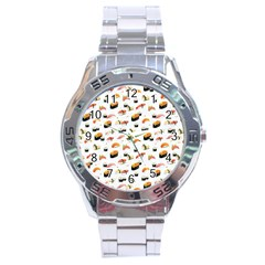 Sushi Lover Stainless Steel Analogue Watch