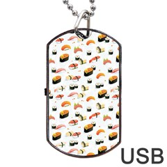 Sushi Lover Dog Tag USB Flash (Two Sides)