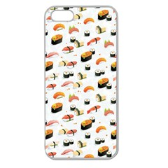 Sushi Lover Apple Seamless Iphone 5 Case (clear)