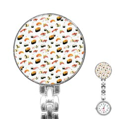 Sushi Lover Stainless Steel Nurses Watch