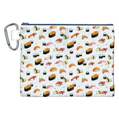 Sushi Lover Canvas Cosmetic Bag (XXL)