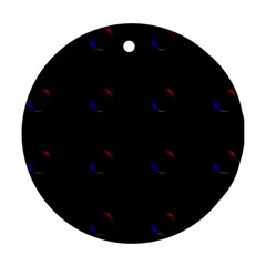 Tranquil Abstract Pattern Ornament (round)