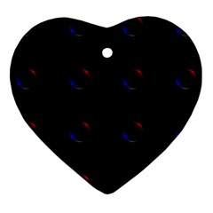 Tranquil Abstract Pattern Ornament (heart)