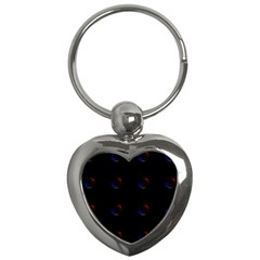 Tranquil Abstract Pattern Key Chains (Heart)