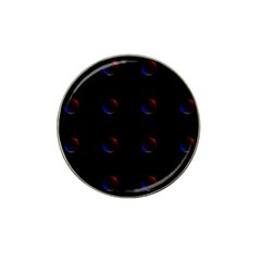 Tranquil Abstract Pattern Hat Clip Ball Marker