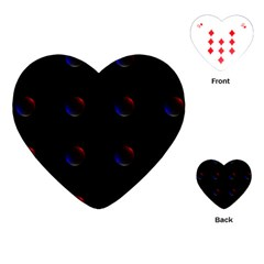 Tranquil Abstract Pattern Playing Cards (Heart)