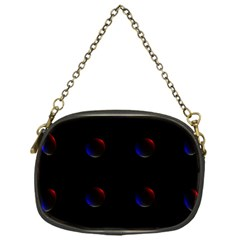 Tranquil Abstract Pattern Chain Purses (One Side)