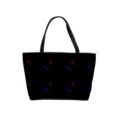 Tranquil Abstract Pattern Shoulder Handbags