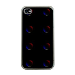 Tranquil Abstract Pattern Apple Iphone 4 Case (clear)