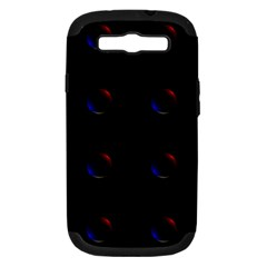 Tranquil Abstract Pattern Samsung Galaxy S Iii Hardshell Case (pc+silicone)