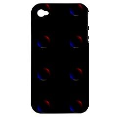 Tranquil Abstract Pattern Apple iPhone 4/4S Hardshell Case (PC+Silicone)