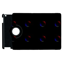 Tranquil Abstract Pattern Apple iPad 3/4 Flip 360 Case