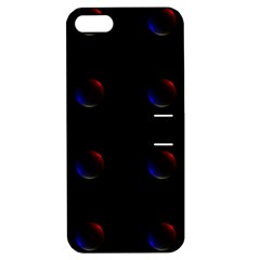 Tranquil Abstract Pattern Apple iPhone 5 Hardshell Case with Stand