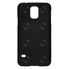 Tranquil Abstract Pattern Samsung Galaxy S5 Case (Black)